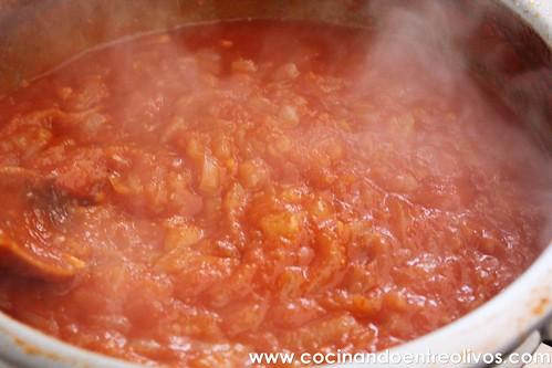 Bacalao encebollado con tomate www.cocinandoentreolivos (3)