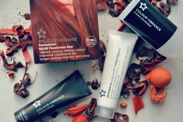 Superdrug passionate red hair dye kit