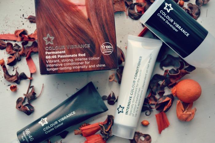 Superdrug passionate red hair dye kit
