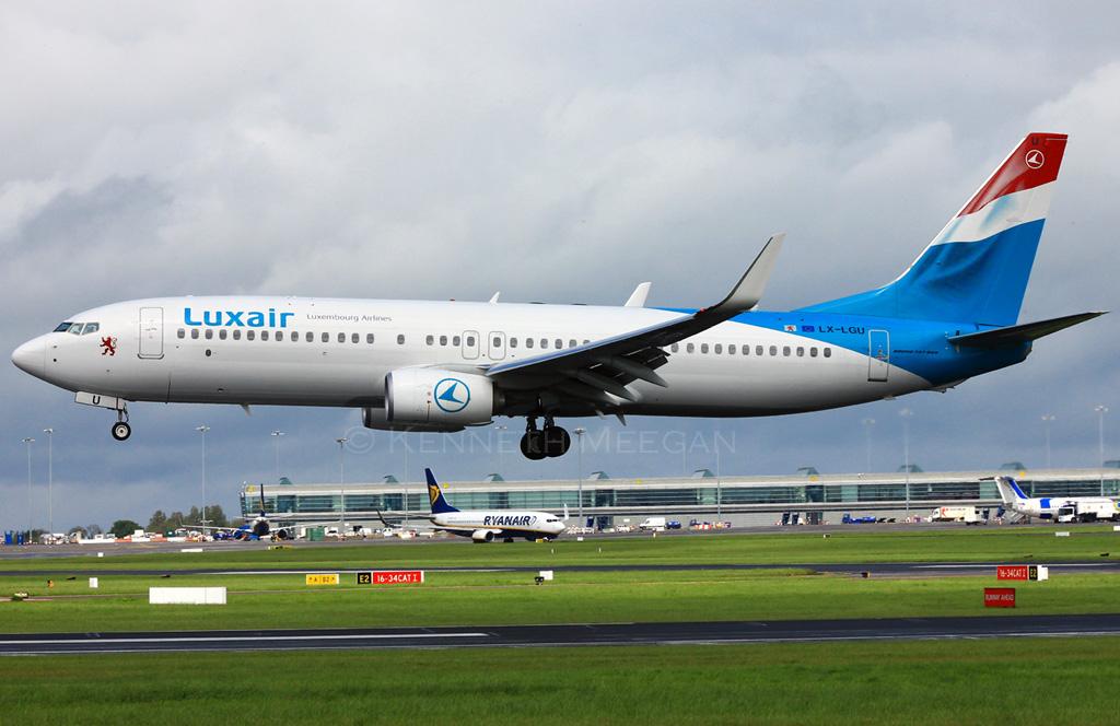 LX-LGU - B738 - Luxair