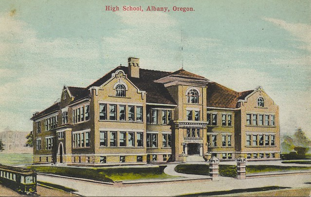 Header of Albany High School