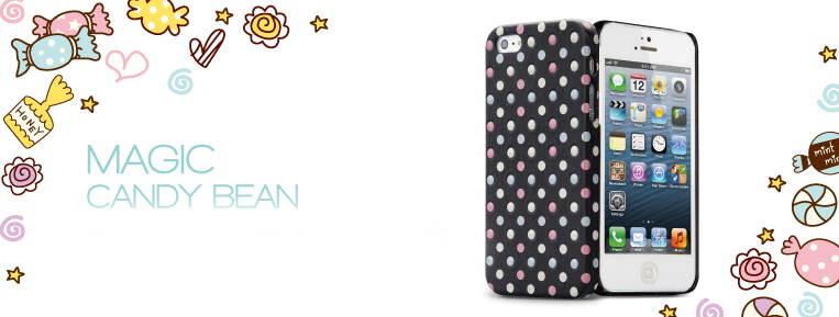Magic Candy Bean iPhone 5/5s Case - High Quality Colourful Case