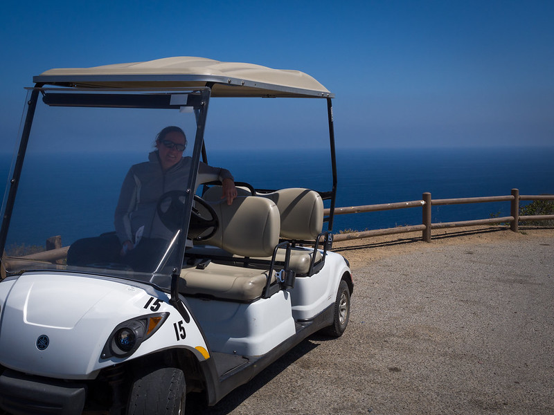 The Backfiring Golf Cart at the Edge of the World