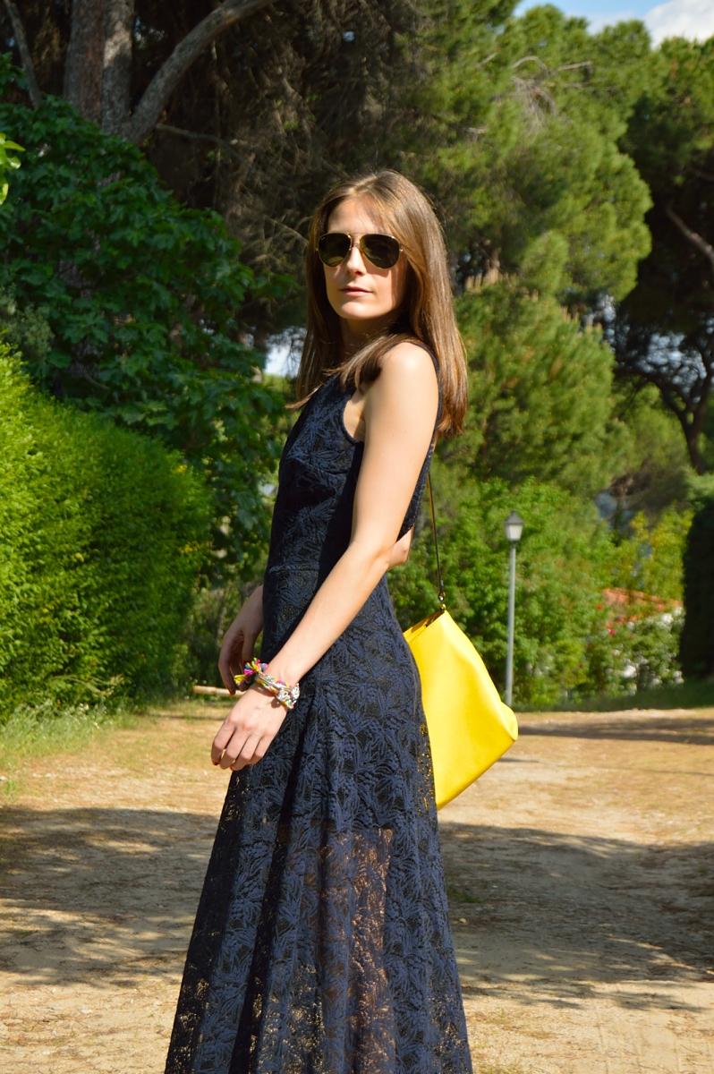 lara-vazquez-madlula-blog-style-chic-long-lace-dress-yellow-touch