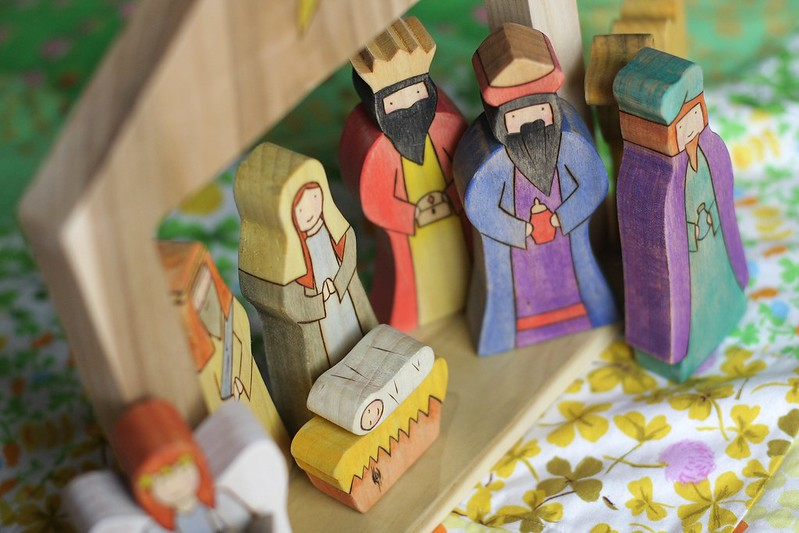 Nativity set from Armadillo Dreams