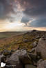 Sunset at Stanage by Russell J-D