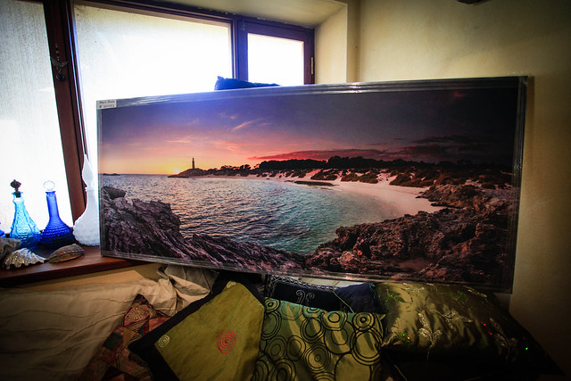 "Large 60"" X 26"" Panorama canvas for a good customer... Sold"