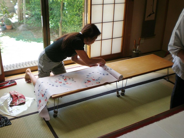 Cutting out the Fabric 3
