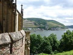 Blick von Burg Rheinstein
