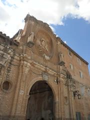 Arco de la portería del monasterio