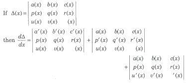 CBSE Class 12 Maths Notes : Determinant