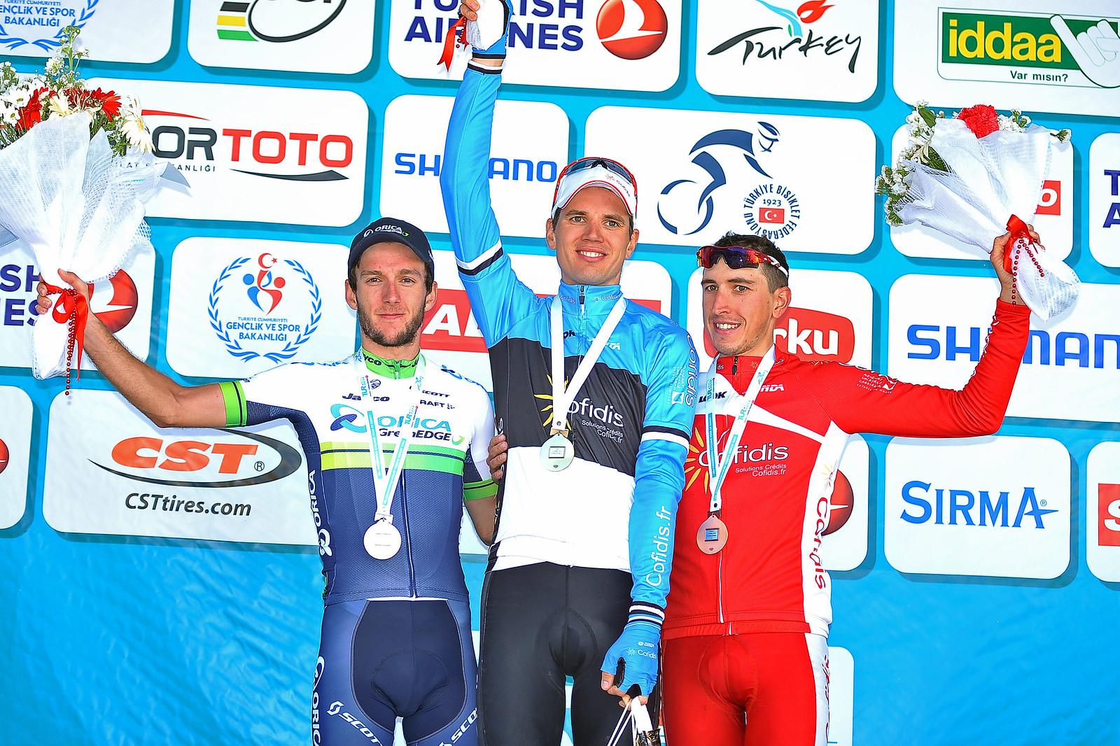 TUR Stage 3 podium