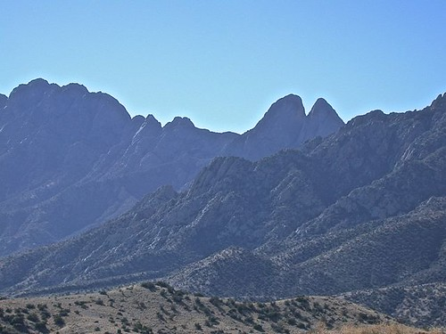 Organ Mountains east side