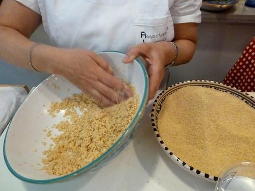 incocciando il couscous