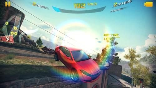 เกม Aaphalt 8: Airborne บน Samsung Galaxy Note 3 Neo