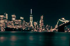 NYC Skyline in bokeh