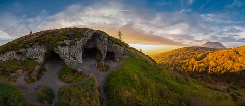 sunrise de soleil dome puy auvergne clermont ferrand lever grottes orcines clierzou
