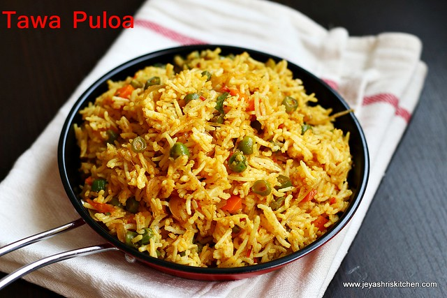 Tawa Pulao Street Food Recipe