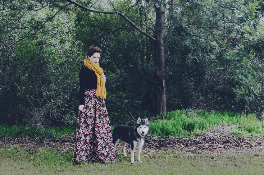 MitV-floral-skirt e