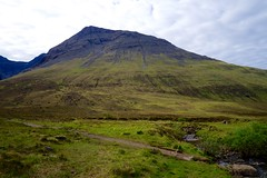 Bottom of the Cuilin Mountains