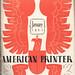 The American Printer 1941 by Depression Press