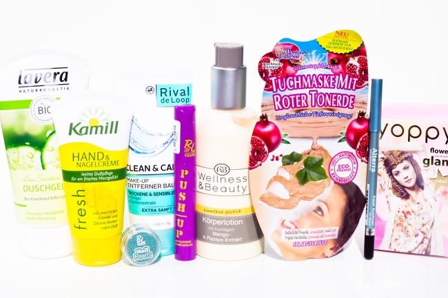 Schön für mich, Rossmann, sfmbox, Beautybox, Schön für mich Juni 2014