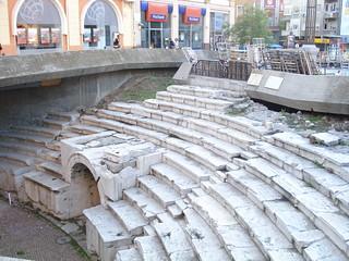"""""""Rimski Stadion"""" Square, Plovdiv, Bulgaria"""