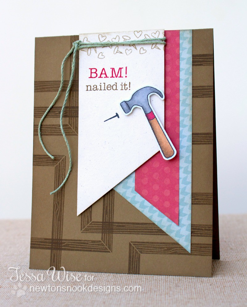 NEWTONS NOOK DESIGNS Bam! Card