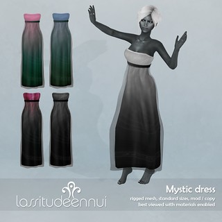 lassitude & ennui Mystic dress