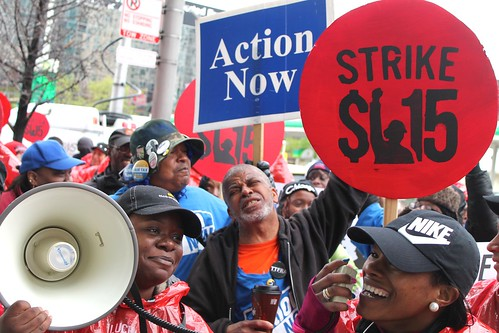 Fight for $15 in Chicago: May 15 2014