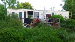 Au camping à L'isle-sur-le-Doubs