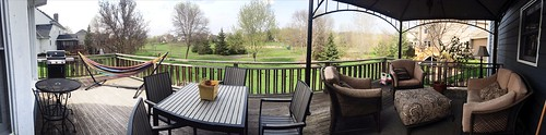 Deck in spring