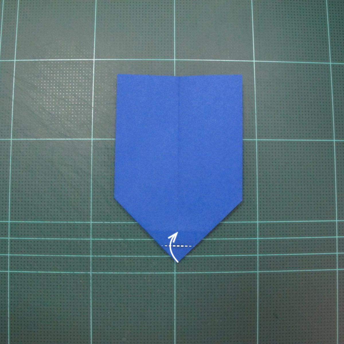 วิธีการพับกระดาษเป็นรูปกระต่าย แบบของเอ็ดวิน คอรี่ (Origami Rabbit)  010