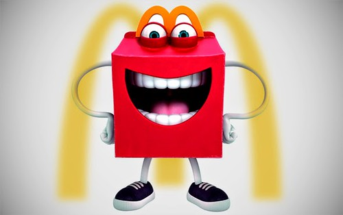 McDonald's unveils Low Fat Yogurt, Happy Meal scary, ridiculous mascot