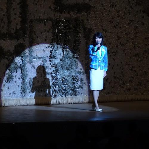 2014年 東京ディズニーリゾート・アンバサダー 安間由香里さん。