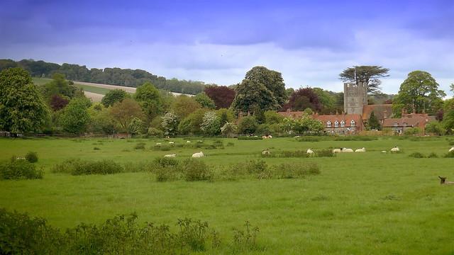 Mill End - Rotten Row - Pheasants Hill - Hambleden 9km walk