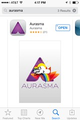 Aurasma at the App Store