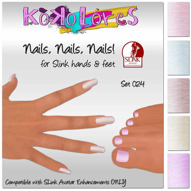 [KoKoLoReS] Nails, Nails, Nails! Set 024