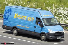 Iveco Daily 35S13 - KH62 KOO - 12-3 - Sir xxx - Knights of Old - M1 J10 Luton - Steven Gray - IMG_0803