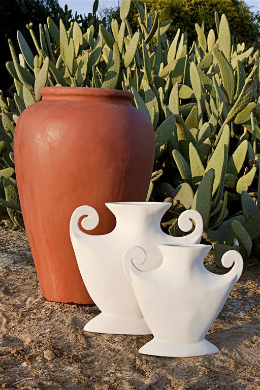 Profile Urn - Large, Profile Urn - Small & Roman Oil Jar