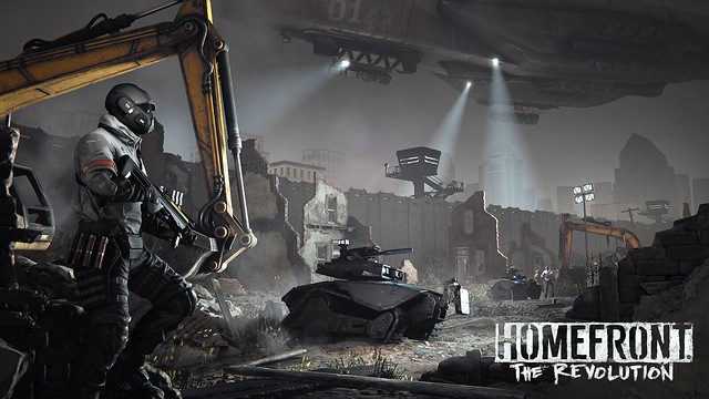 Homefront: The Revolution on PS4