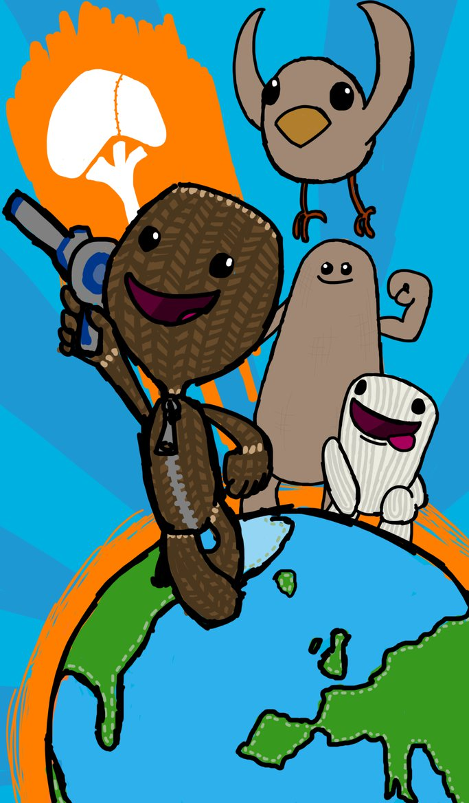 LittleBigPlanet 3 by ZacProductions.