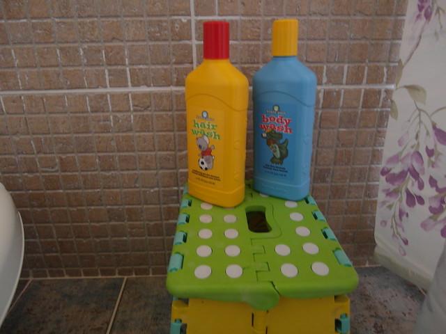 大方提供美樂家的洗髮精與沐浴乳供寶寶使用喔!@宜蘭心森林民宿1N