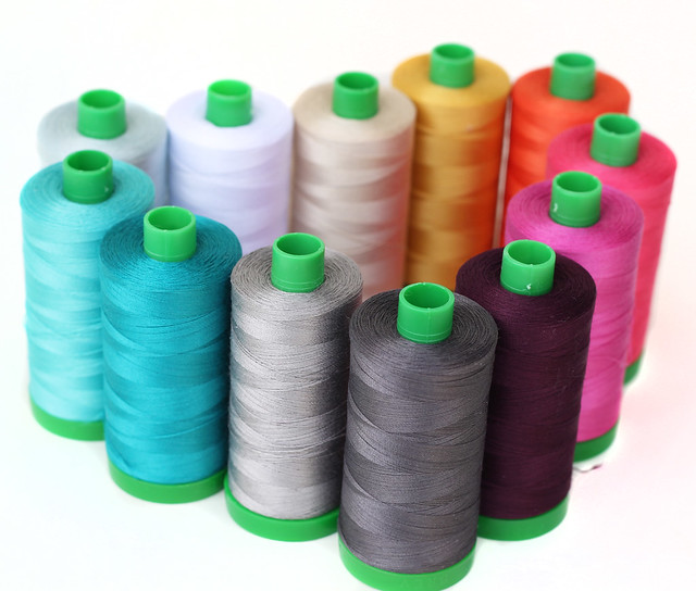 Aurifil thread collection - Indelible