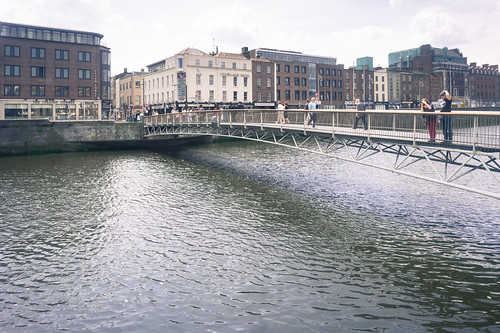 Millennium Bridge Dublin photo