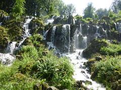 Wasserfall der wildromantischen Art