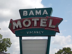 Bama Motel Neon Sign---Birmingham, Al.