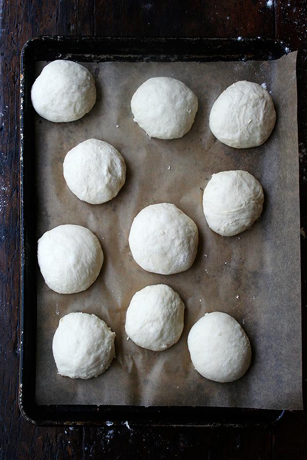 buns, rising