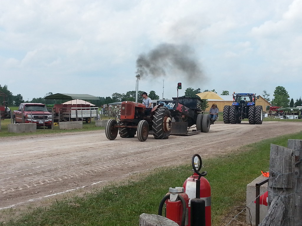 Paisley Truck and Tractor Pull