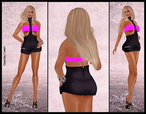 116 - Fashionlicious black/pink